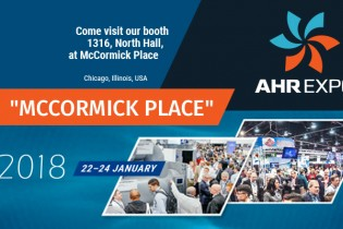Welcome to our booth at AHR EXPO 2018