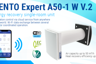 Introducing new VENTO Expert series single-room ventilation units