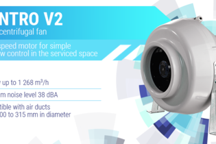 Introducing two-speed Centro V2 fan
