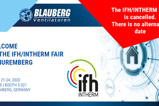 IFH/INTHERM TRADE FAIR IS CANCELLED