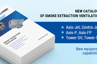 Catalogues for smoke extraction ventilation have been updated