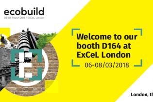 Welcome to our booth at Ecobuild 2018!