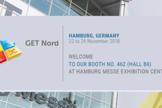 Welcome to our booth at GET Nord 2018