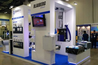 Blauberg presents energy-saving ventilation technology at MCE Asia 2018