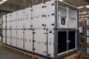 New modular BlauAIR unit: two-way heat recovery for minimum operating costs