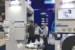 Blauberg at RefriAmеricas 2019: smoke extraction, new energy efficient products and domestic ventilation solution