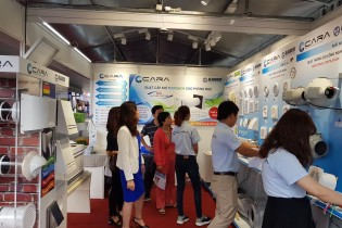 Blauberg ventilation equipment showcased at VIETBUILD