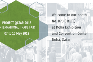 Welcome to our booth at Project Qatar 2018