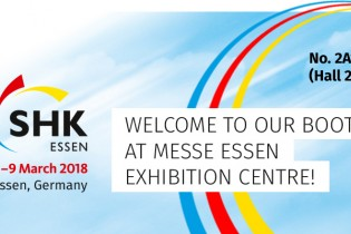 Welcome to our booth at SHK Essen 2018