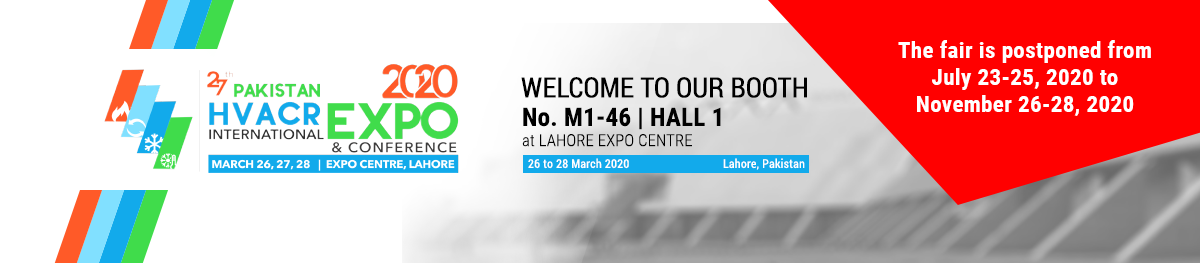 PAKISTAN HVACR EXPO & CONFERENCE 2020 26-28,03