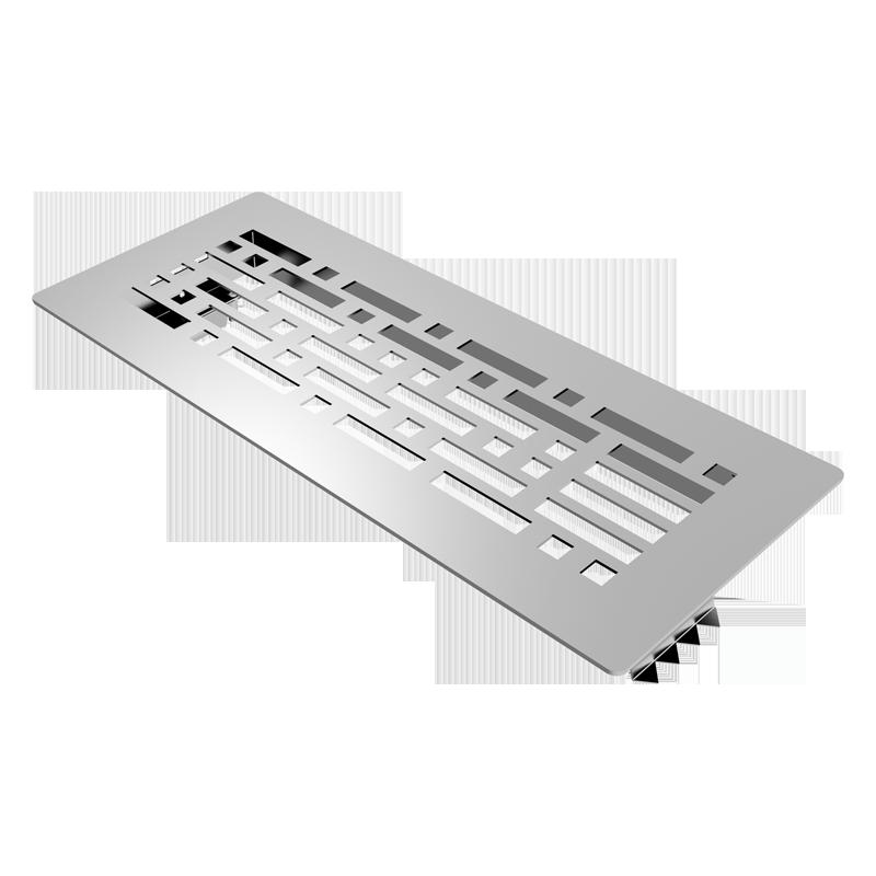 Решетка напольная металлическая BlauFast GF 300x100 10