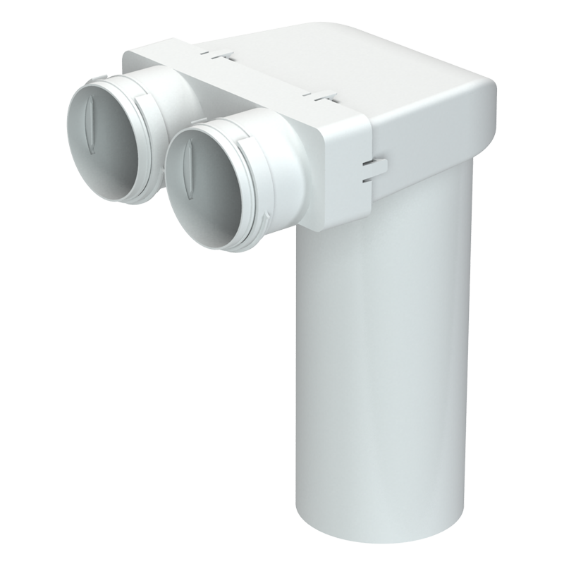 Round ceiling mounted connector BlauFast RPZ
