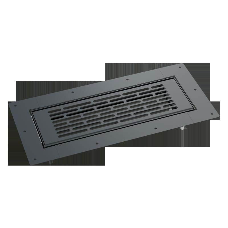 Решетка напольная металлическая BlauFast GF 300x100 04