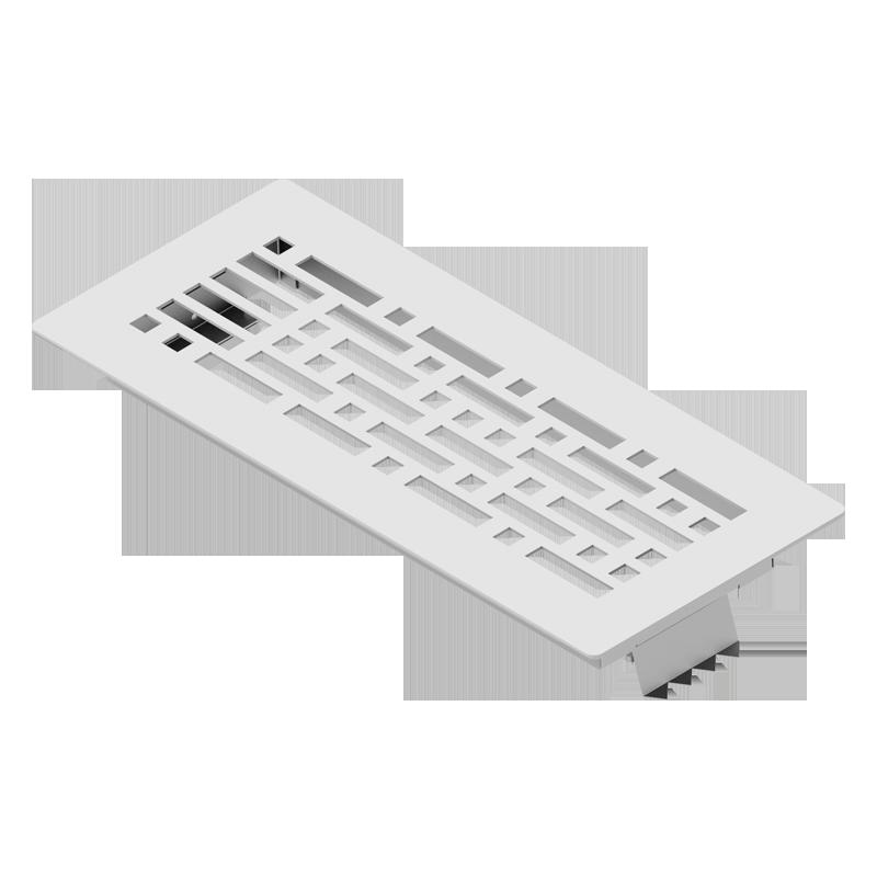 Решетка напольная металлическая накладная BlauFast GF 300x100 07