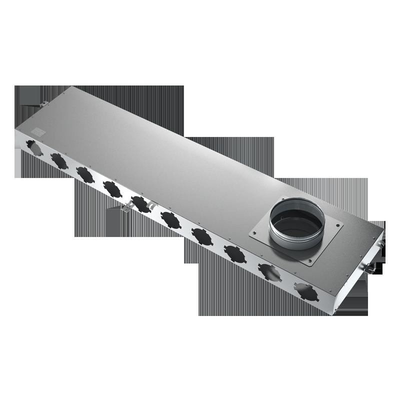 Metal air distribution box BlauFast SR 160/75x12 01