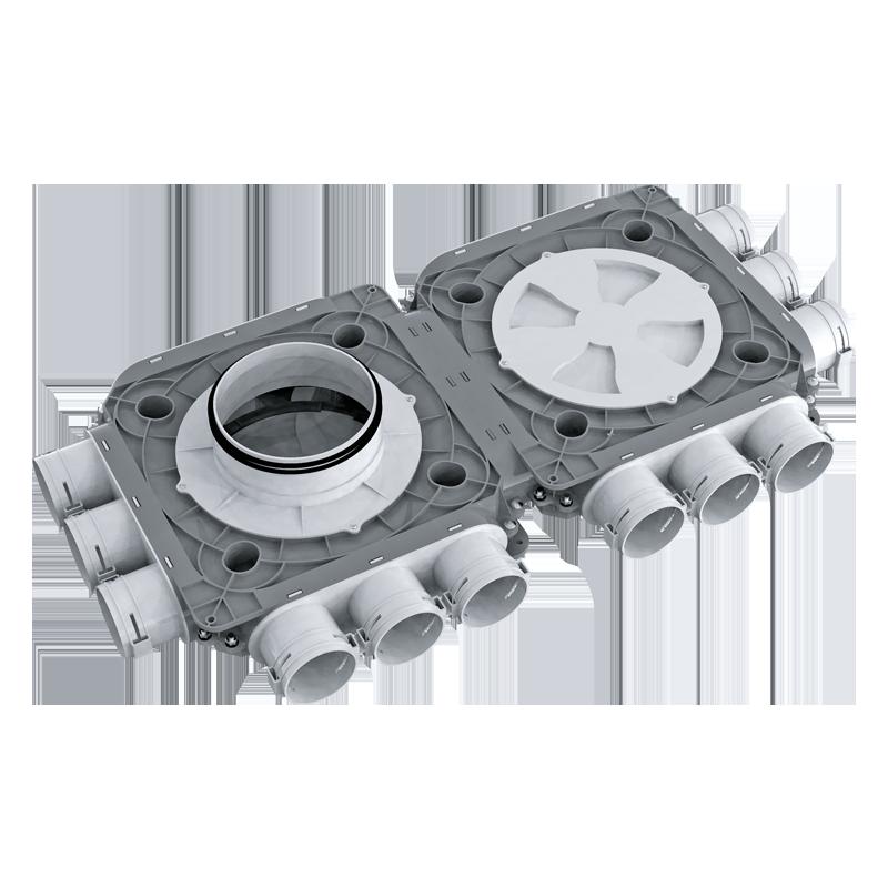 Коллектор пластиковый BlauFast SR ../63x12 51P