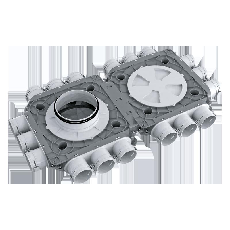 Коллектор пластиковый BlauFast SR ../63x18 50P