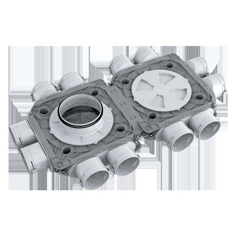 Коллектор пластиковый BlauFast SR ../90x12 50P