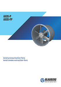 "Catalogue ""Axial pressurisation (smoke extraction) fans"""
