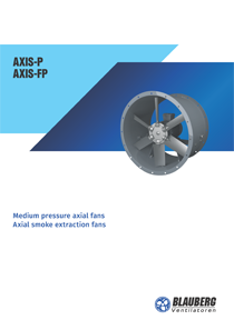 "Catalogue ""Medium pressure axial fans. Axial smoke extraction fans"""