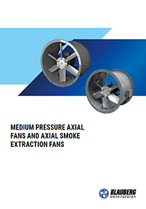 "Catalogue ""Medium pressure axial fans and axial smoke extraction fans"""