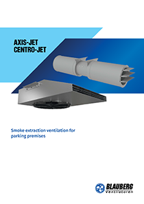 "Catalogue ""Smoke extraction ventilation for parking premises"""