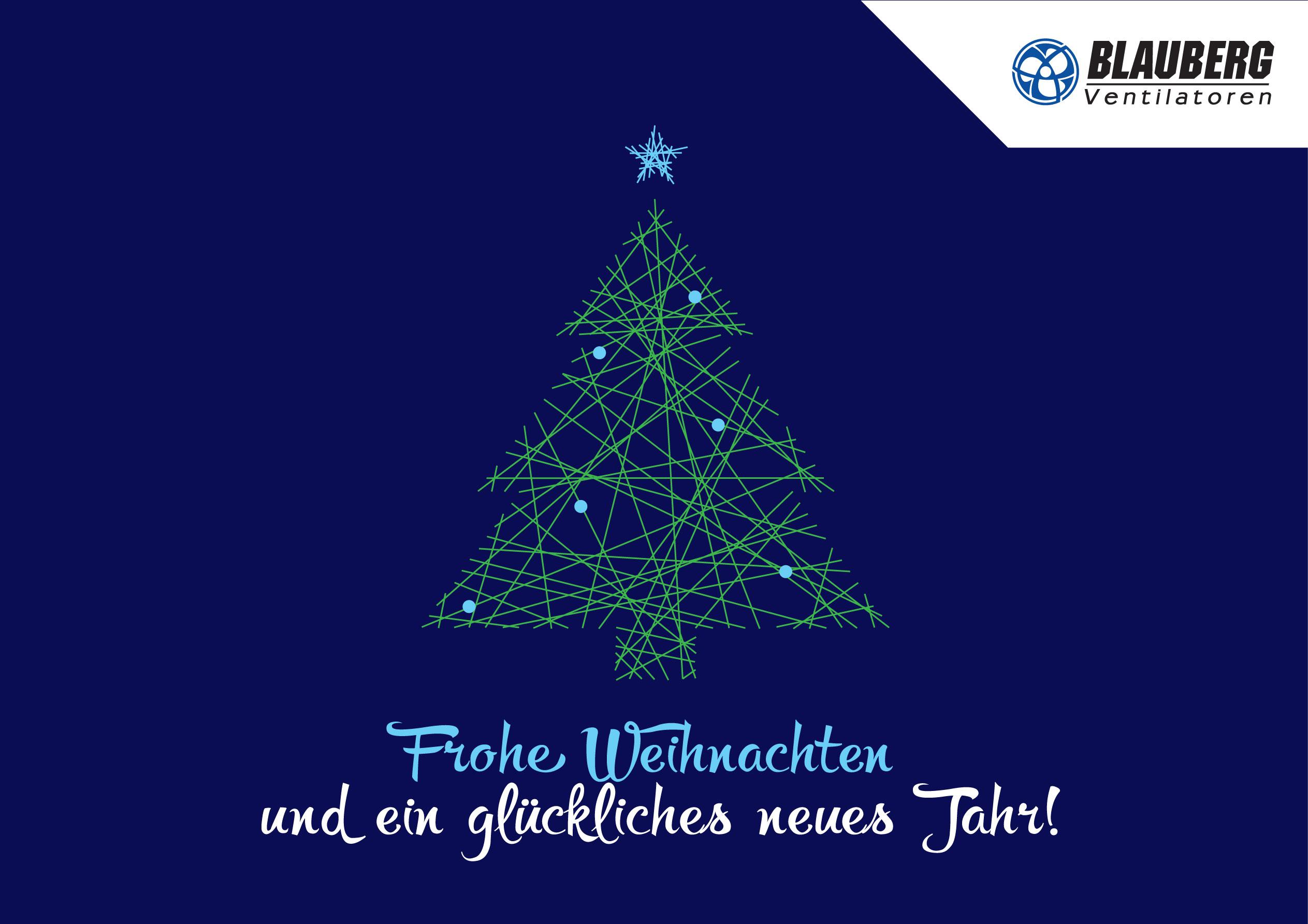 Wir wünschen Ihnen frohe Weihnachten und einen guten Rutsch ins neue ...